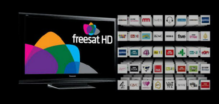 Freesat Channels Abertillery Digital