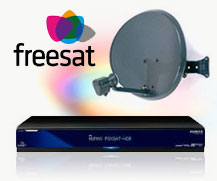 Freesat Abertillery digital TV